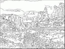 Surprising Jurassic Park Map Colouring Pages Page With Coloring And Builder