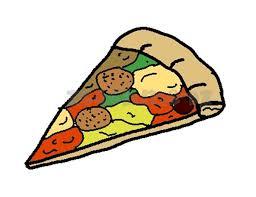 Cheese Pizza Clip Art