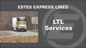 100 Estes Truck Lines LessThanload YouTube
