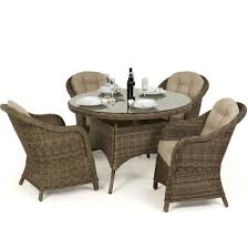 Maze Rattan Winchester Round Dining Table With 4 Round Chairs ... Paris 80 Cm Round Ding Table 4 Chairs In White Whitegrey Bellevue Pub D8044519 Cramco Counter Height Seater Oslo Chair Set Temple Webster Ding Table Chairs Easyhomeworld And Aamerica Port Townsend 5 Pc Oak Glass And With Fabric Seats Amazoncom Coavas 5pcs Brown Kitchen Rectangle Vfuhrerisch Black Wood Red Small Cheap Find 8 Solid Davenport Ivory Dav010