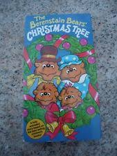 The Berenstain Bears Christmas Tree Dvd by The Berenstain Bears Christmas Tree Vhs Ebay