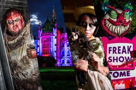 Halloween Theme Park Uk by Preview Alton Towers To Give Guests A Terrifying New U0027welcoming
