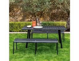 DARWIN Black Metal 6 Seat Garden Dining Set Brompton Metal Garden Rectangular Set Fniture Compare 56 Bistro Black Wrought Iron Cafe Table And Chairs Pana Outdoors With 2 Pcs Cast Alinium Tulip White Vintage Patio Ding Buy Tables Chairsmetal Gardenfniture Italian Terrace Fniture Archives John Lewis Partners Ala Mesh 6seater And Bronze Home Hartman Outdoor Products Uk Our Pick Of The Best Ideal Royal River Oak 7piece Padded Sling Darwin Metal 6 Seat Garden Ding Set