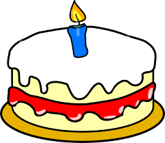 First Birthday Cake Clipart