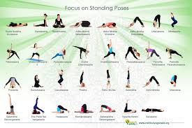 Standing Yoga Poses For Beginners Infographic