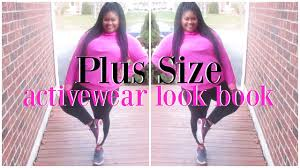 plus size workout activewear try on haul look book plus size