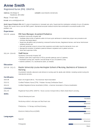 20+ Nursing Resume Examples (Template, Skills & Guide) 12 Resume With Cerfication Example Proposal 56 Tips To Transform Your Job Search Jobscan Blog Rumes And Cvs Career Rources For Students How Write A Great Data Science Dataquest 101how Templates 25 Examples Sample For Pmp Certified Project Manager Listing Cerfications On 9 10 It 2019 Professional Guide Licenses On Easy Best Personal Care Assistant Livecareer Academic