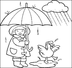 Free Printable Weather Coloring Pictures For Preschool