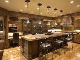 wrought iron kitchen island lighting modern open rustic kitchen
