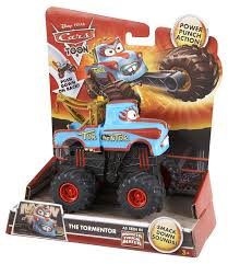 Amazon.com: Disney/Pixar Cars Toon Tormentor Monster Truck: Toys & Games