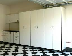 Sears Gladiator Wall Cabinets by Well Turned Garage Design Ideas Showing Steel Cabinets Feat Bright