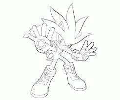 16 Pics Of Sonic Vs Silver Coloring Pages