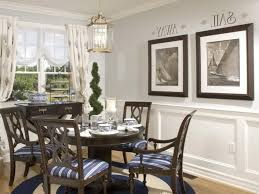 Modern Dining Room Ideas Brown Creative Legged Table Orange Upholstered Chairs Agreeable Finished