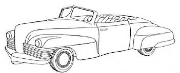 Old Car Coloring Pages Page 1 Within