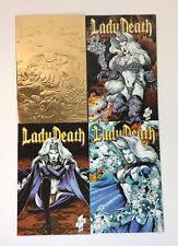 LADY DEATH III THE ODYSSEY Comics 1 2 3 4 FULL SET