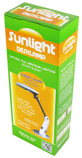 Sun Lite Lamp Holder Dimmer by Sunlight Desk Lamp Natural Full Spectrum Sun Light Simulates
