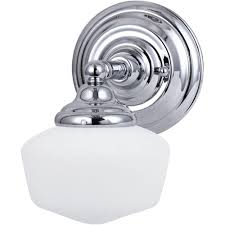Bathroom Wall Sconces Chrome by Vs22701ch1 Light Wall Sconcechrome Bathroom Wall Sconces Polished