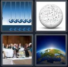 4 Pics 1 Word Answer for Magnets Globe Panel Earth