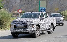 100 Mitsubishi Pickup Truck 2019 L200 Triton Double Cab Spied Testing Autoevolution