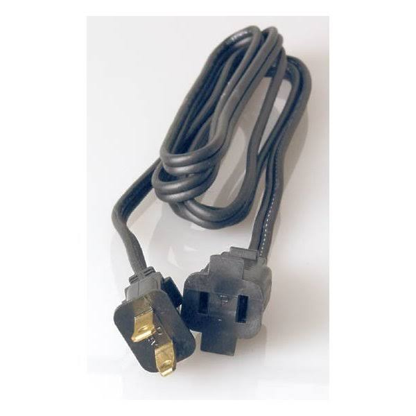 Coleman Cable Household Heater Cord - Black, 15A, 6'