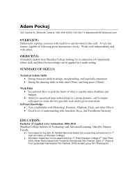 Fresh Resume Profile Examples For Students Ideas College
