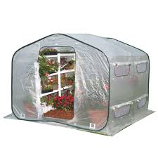 Home Depot Shelterlogic Sheds by Shelterlogic 6 Ft X 8 Ft X 6 Ft 6 In Backyard Greenhouse Shed