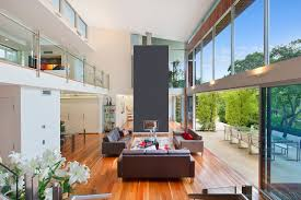 100 Modern Home Designs Sydney Stunning With Two Pavilions Linked By A Central Courtyard