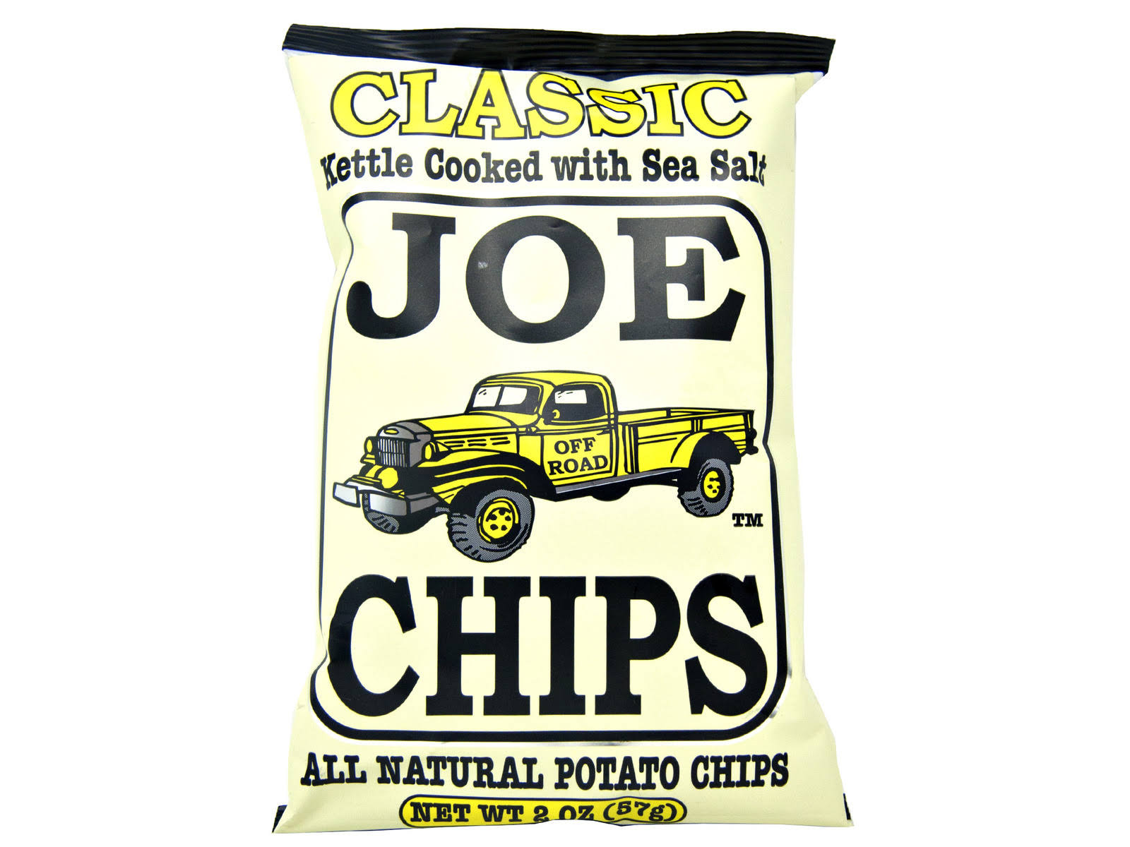 Joe Tea Classic Sea Salt Potato Chips 28/2oz