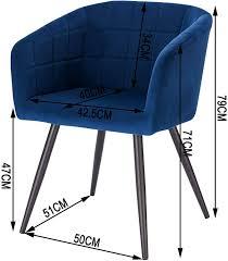 2er set esszimmerstühle aus samt metall modell annika