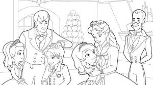 Download Sofia The First Coloring 2 Print