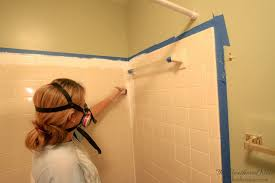 Tiling A Bathtub Surround by Can You Paint Tile How We Brightened Our Bathtub On A Budget