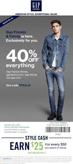 Pinned March 10th: 40% Off Everything At #Gap #Gap Outlet ...
