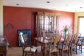 Multiple Glazed Accent Wall Eclectic Dining Room