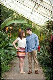 Rachel & Aaron at the Botanical Conservatory Fort Wayne
