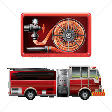 100 Fire Trucks Unlimited Hose Pipe And Truck Vector Image 1805954 Stock