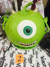 Monsters Inc Mike Wazowski Pumpkin Carving by 10 Best Monsters Inc Images On Pinterest Pumpkin Decorating