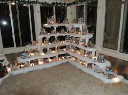 Lemax Halloween Village Displays by 72 Best Snow Village Display For Small Spaces Images On Pinterest