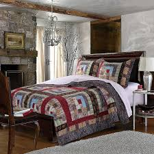 Greenland Home Bedding by Amazon Com Greenland Home 3 Piece Colorado Lodge Quilt Set King