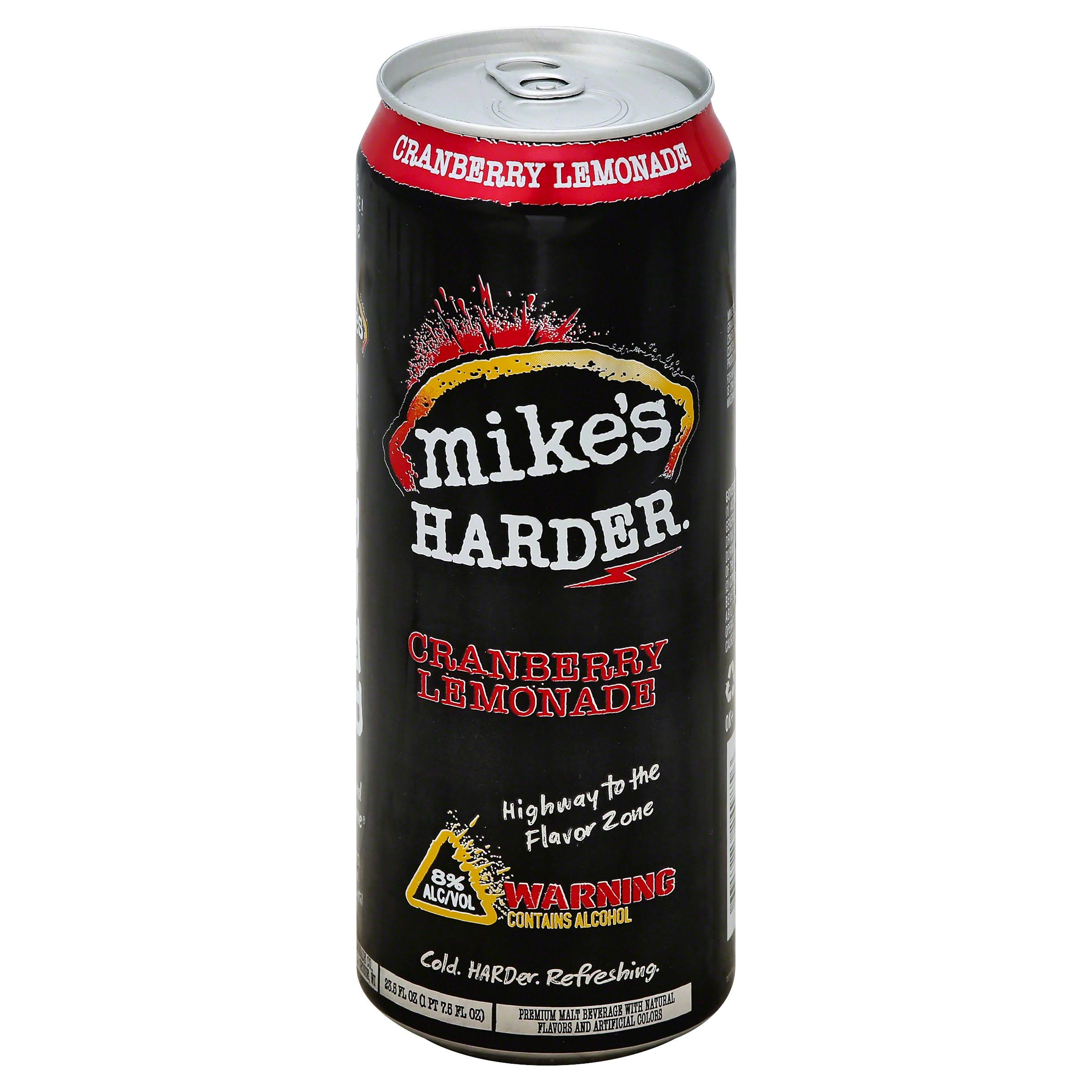 Mike's Harder Cranberry Lemonade - 23.5oz