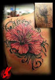 Cover Up Tattoos On Lower Back Flower Tribal Tattoo