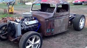 100 41 Chevy Truck My Mates Pickup Rat Rod In The Build YouTube