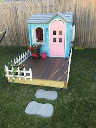 Best Mom Ever Creates World's Cutest Playhouse For Her Daughter ... Backyards Amazing Here 34 Big Backyard Playhouse Target Cozy Oceanview Wooden Swing Set Playsets Discovery Kid Outdoor Savannah 6x4 Sets Toys R Us Home Decoration Captains Loft Heartland Industries Best 25 Craftsman Kids Playhouses Ideas On Pinterest Wood Kids Playhouses The Depot Excellent 64 Timber Georgian 32 Hereford Back Bay Houses