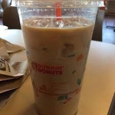 Large Pumpkin Iced Coffee Dunkin Donuts by Dunkin U0027 Donuts 58 Photos U0026 80 Reviews Donuts 3481 S Durango