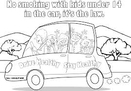 Smoke Free Coloring Page English Add To Cart