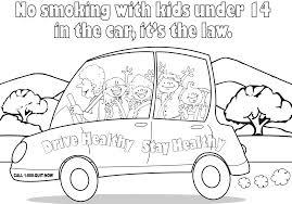 Smoke Free Coloring Page English Add To Cart