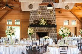 Rows Of Burlap Were Draped Across The Ceiling Venue Pavilion At Pepper Plantation