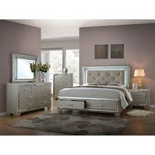 glamour bedroom furniture set assorted sizes sam s club