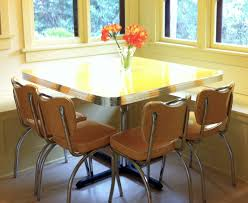 Yellow Retro Kitchen Table And Chairs Inspirational Home Decor Interior