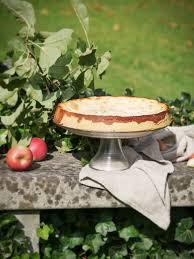 glutenfreier apfelkuchen mit zimt quark füllung