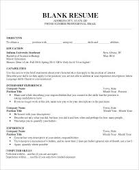 Word Doc Resume Template Templates Best Sample Document Download